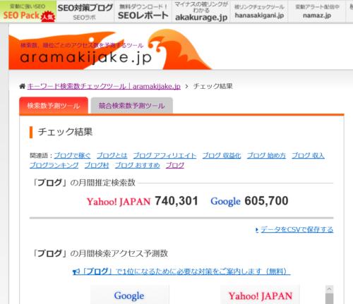 ブログの検索結果