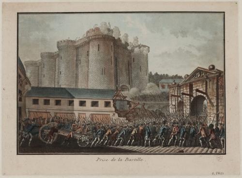 バスティーユの牢獄